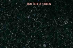 Granite Stone Butterfly Green