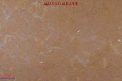 Marble stones Amarillo Alicante
